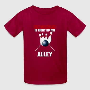 bowling alley - Kids' T-Shirt