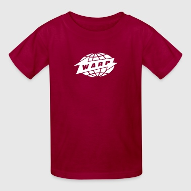 Warp Records Record Label copy - Kids' T-Shirt