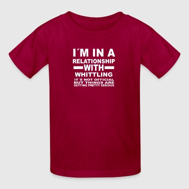 relationship with WHITTLING - Kids' T-Shirt