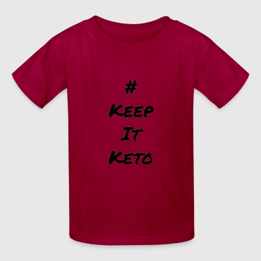 #keepitketo fam shirt - Kids' T-Shirt
