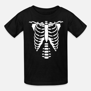 Skeleton Skeleton Torso Halloween Costume T-shirts - Kids' T-Shirt