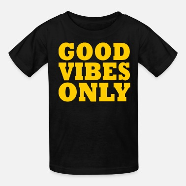 England GOOD VIBES ONLY - Kids' T-Shirt