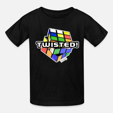 Zauberwürfel Twisted ! - Kids' T-Shirt