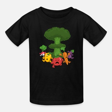 Veggies Vegetable Armageddon - Kids' T-Shirt