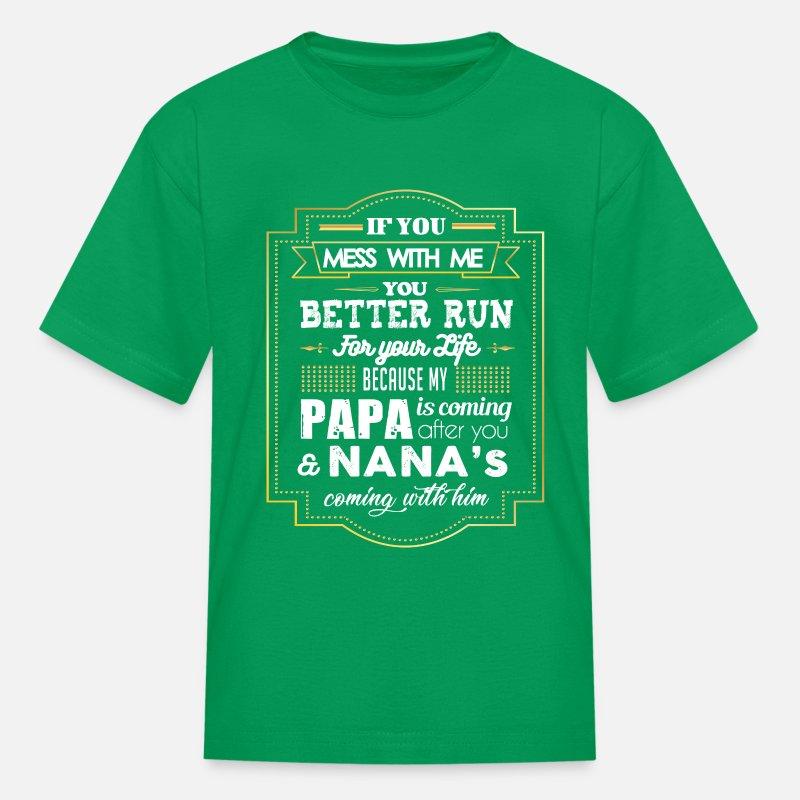 My Nana in Mississippi Loves Me Toddler//Kids Short Sleeve T-Shirt