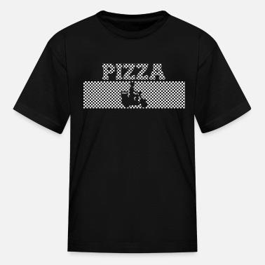 e5202913ec Pizza in check pattern white design - Kids' ...