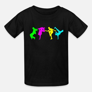 Bboy Breakdance Hip Hop Music Oldschool Gift - Kids' T-Shirt