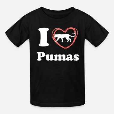 I Love Heart Pumas T-Shirt