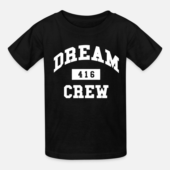 Man T-Shirts - Dream Crew 416 - Kids' T-Shirt black