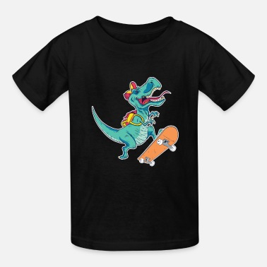Skateboard Skateboarder Gift Idea - Kids' T-Shirt