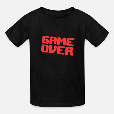 GAME OVER Gamer Nerd Geek Arcade Pixel - Kids' T-Shirt