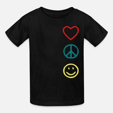 Love Peace Happiness - Kids' T-Shirt
