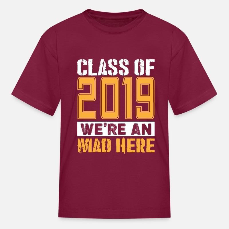 8ad2cdd3d67 Senior T-Shirts - Class of 2019 Shirts Kids  T-Shirt - burgundy