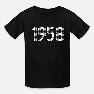 Year Of Birth 1958, Numbers, Year, Year Of Birth - Kids' T-Shirt
