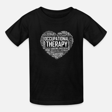 Therapy Occupational Therapy Heart - Kids' T-Shirt