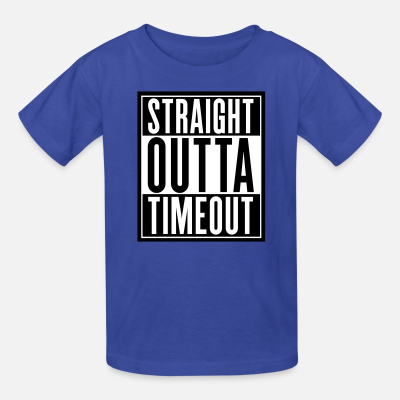 9dbf15bce Straight Outta Timeout Kids' T-Shirt | Spreadshirt