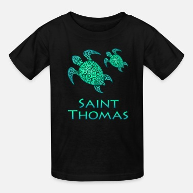 Thomas St Thomas USVI - Kids' T-Shirt