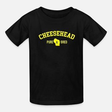 Pure-bred Cheesehead Pure Bred - Kids' T-Shirt