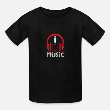 I Love Music I Love Music - Kids' T-Shirt