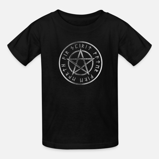 Occult T-Shirts - atheist atheisten Darwin Agnostic occult gift - Kids' T-Shirt black