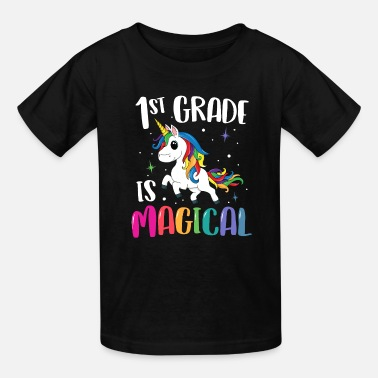 Grade 1st Grade Is Magical Unicorn Back to School - Kids' T-Shirt