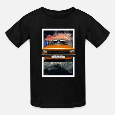 Retro retro car - Kids' T-Shirt