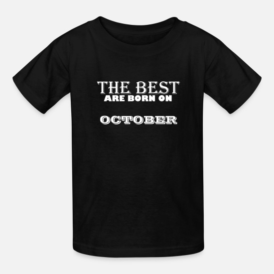 The Best T-Shirts - the best - Kids' T-Shirt black