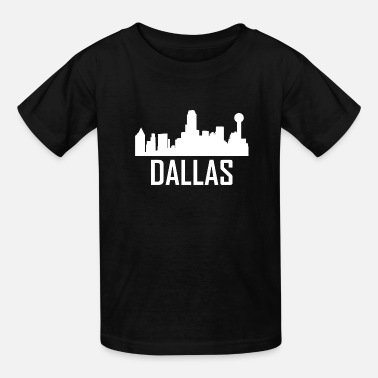 Dallas Texas City Skyline - Kids' T-Shirt