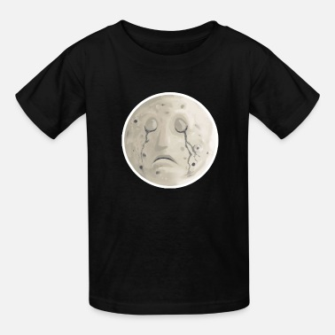 Crying Moon - Kids' T-Shirt