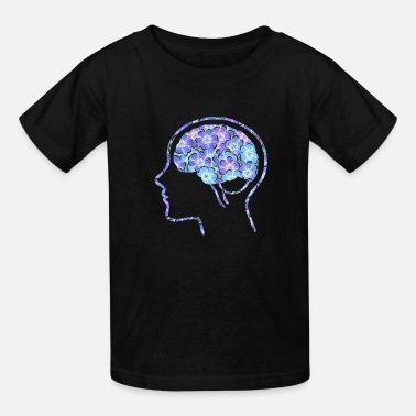Brain T-shirt and products - Kids' T-Shirt