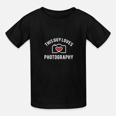 This Guy Loves Photography - Kids' T-Shirt