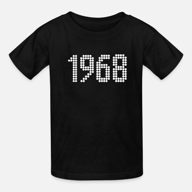 Year Of Birth 1968, Numbers, Year, Year Of Birth - Kids' T-Shirt