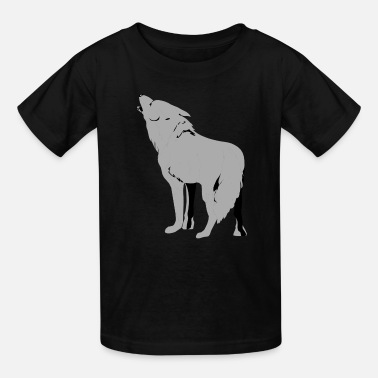 Dope Wolf Hoodie For Kids - Kids' T-Shirt