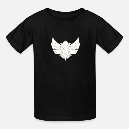 Symbol  T-Shirts - bronze icon - Merch of Legends - Kids' T-Shirt black