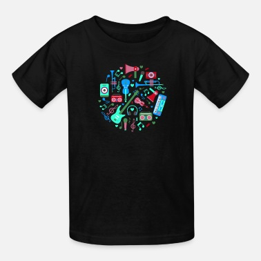 Instruments Musical instruments - Kids' T-Shirt