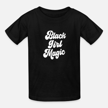 African American College Black Girl Magic - Kids' T-Shirt
