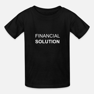 Solution Financial Solution - Kids' T-Shirt