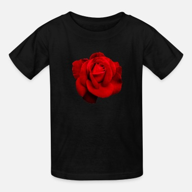 Rose rose red - Kids' T-Shirt
