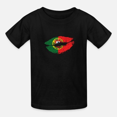 Portugal Mouth Portugal - Kids' T-Shirt