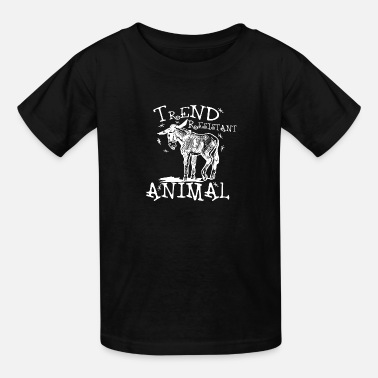 Trend Animal Trend Resistant Animal-White - Kids' T-Shirt