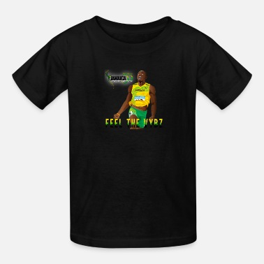 Bolt USAIN BOLT 55 - Kids' T-Shirt