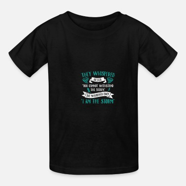 Storm Feminist: I Am The Storm - Kids' T-Shirt