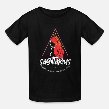 Zodiac Sagittarius Zodiac Sign Birth - Kids' T-Shirt