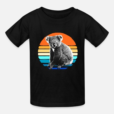 Hipster Koala Bear Australia Marsupial Hipster Backpacking - Kids' T-Shirt