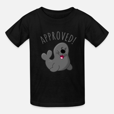 Approved Approved Seal Of Approval - Kids' T-Shirt