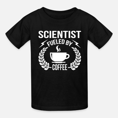 Labouratory Scientist Fueled By Coffee - Kids' T-Shirt