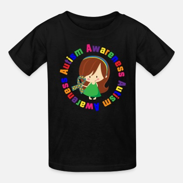 Autism Awareness Autism Awareness Girl - Kids' T-Shirt