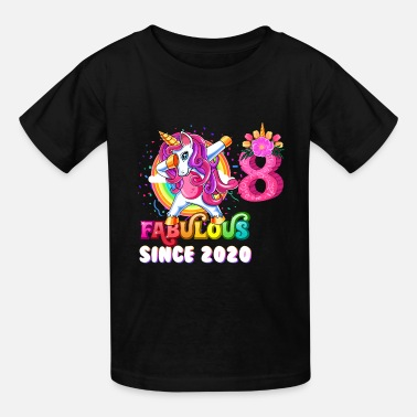 Girl Unicorn girl eight Year Old - 8 Year Old Girl - Kids' T-Shirt