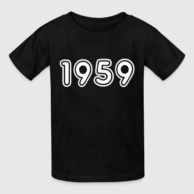 1959, Numbers, Year, Year Of Birth - Kids' T-Shirt