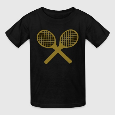 Tennis Rackets - Kids' T-Shirt